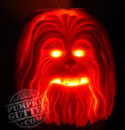 Chewbacca-pumpkin